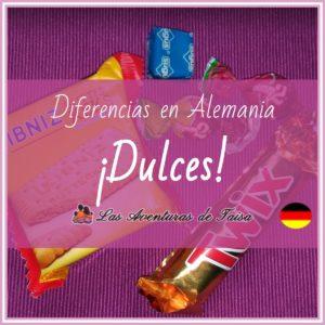 Dulces en Alemania - No aceptes nada de los extaños
