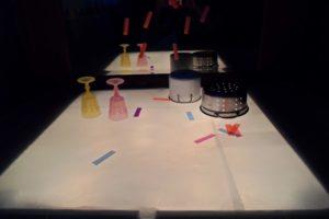 Mesa de Luz - Objetos