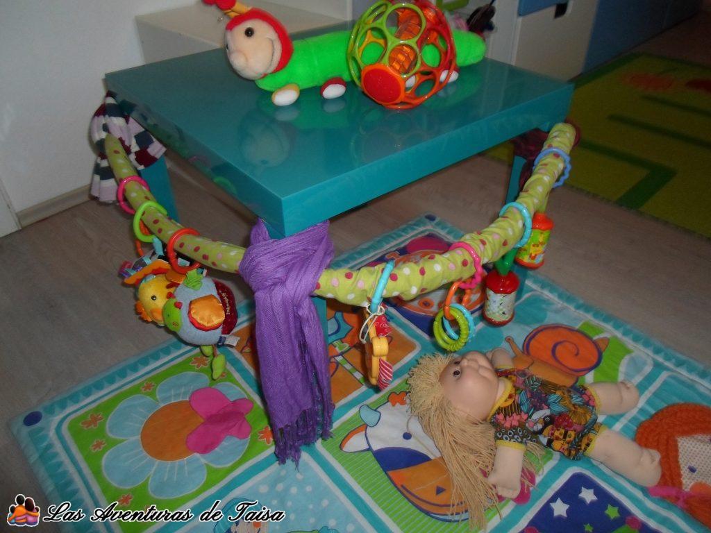 Gimnasio para Bebés DIY