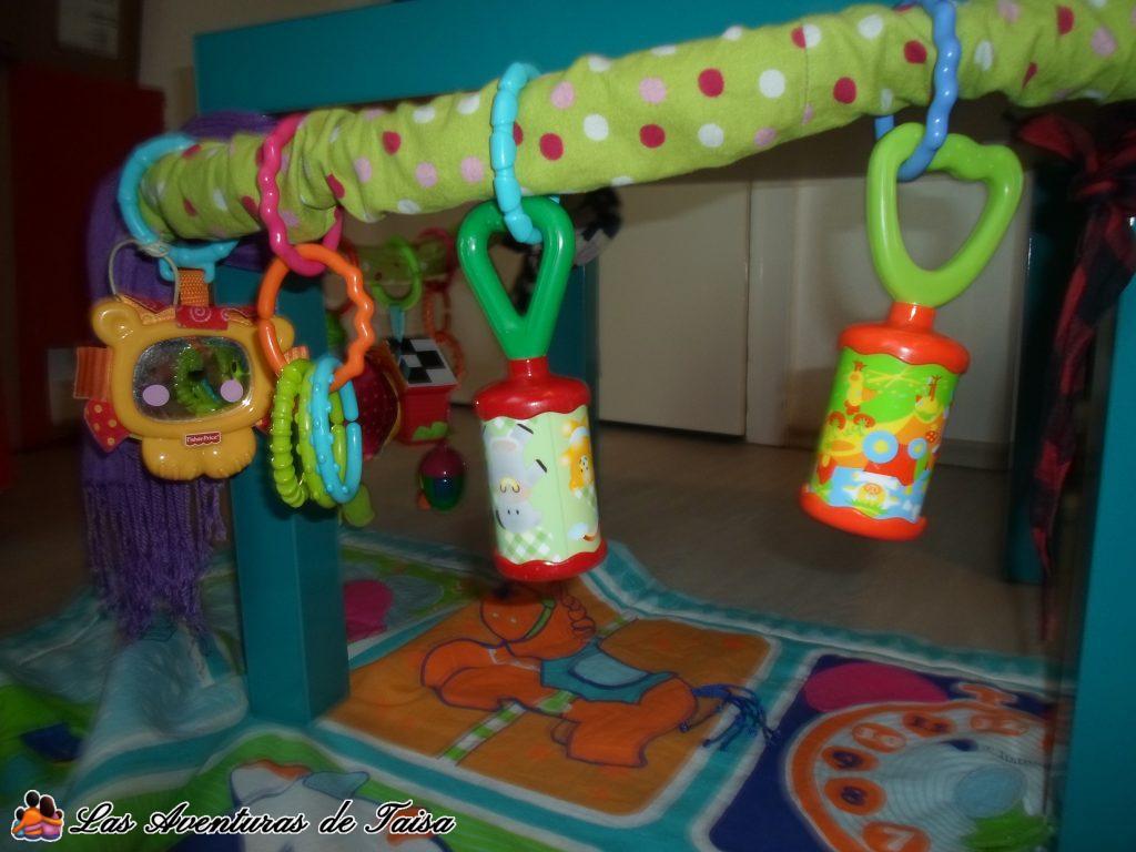 Gimnasio para Bebés DIY - Detalle 1