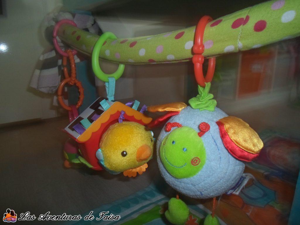Gimnasio para Bebés DIY - Detalle 2