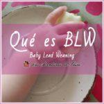¿Qué es BLW? baby led weaning: Empieza la Alimentación complementaria