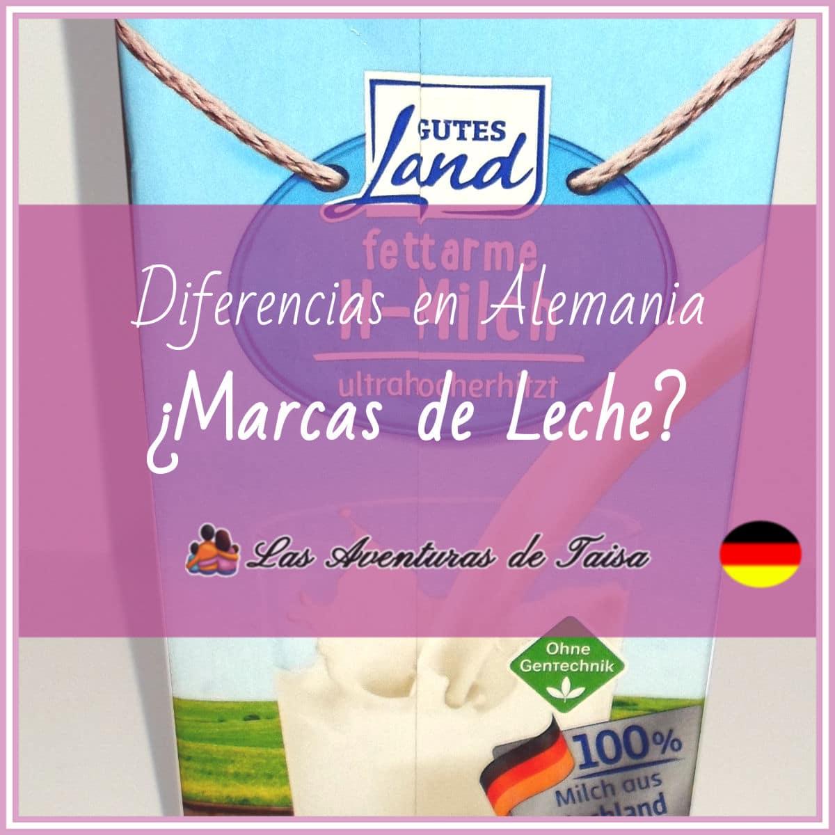 Marcas de Leche en Alemania (Diferencia Nº 2)