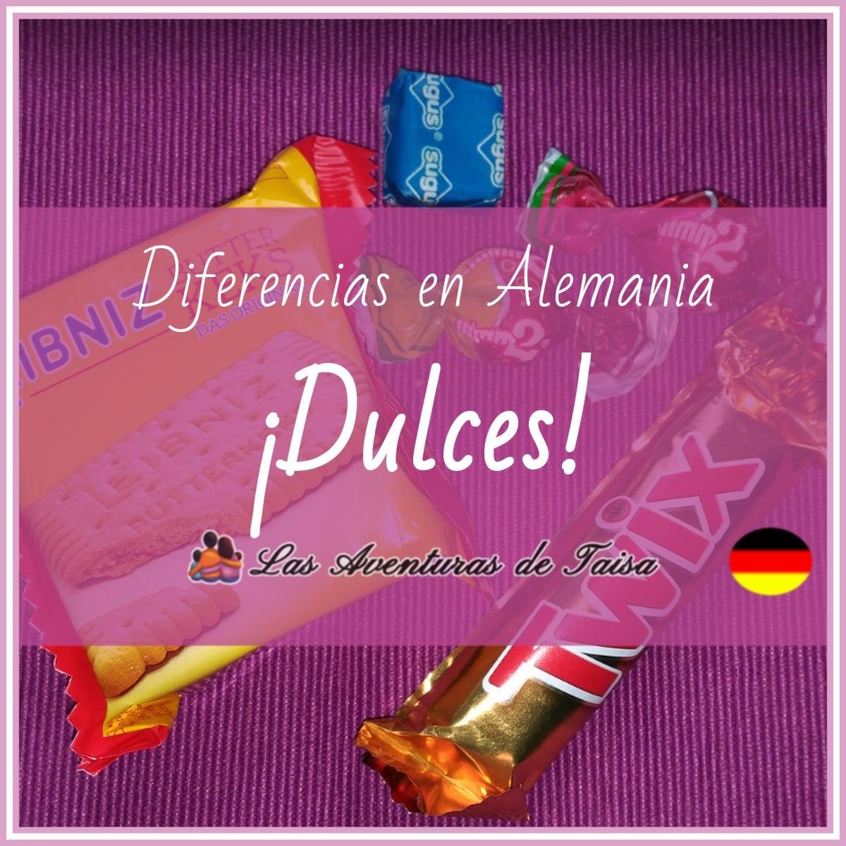 Los Dulces en Alemania - ¡No aceptes nada de los extraños! (Diferencia Nº 3)