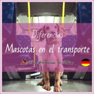 Mascotas en el transporte público en Alemania