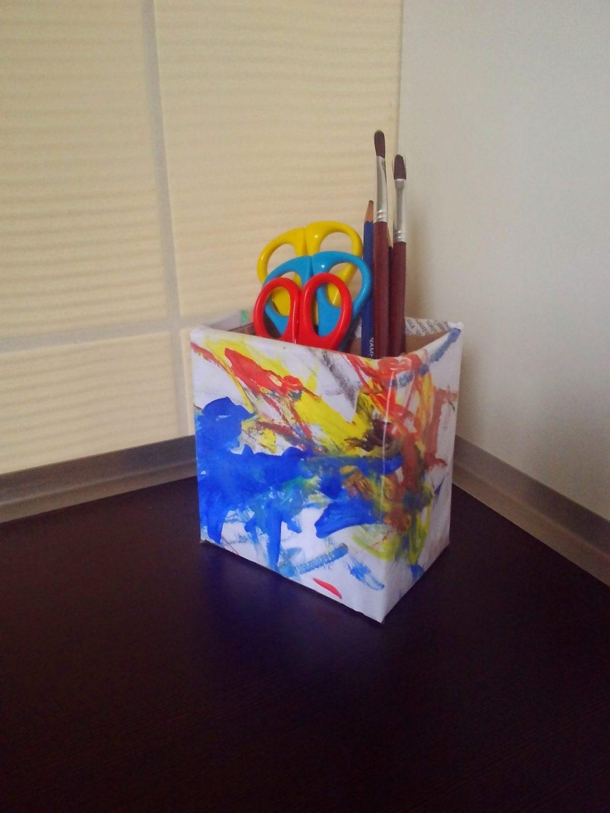 Cómo hacer un Portalápices de cartón