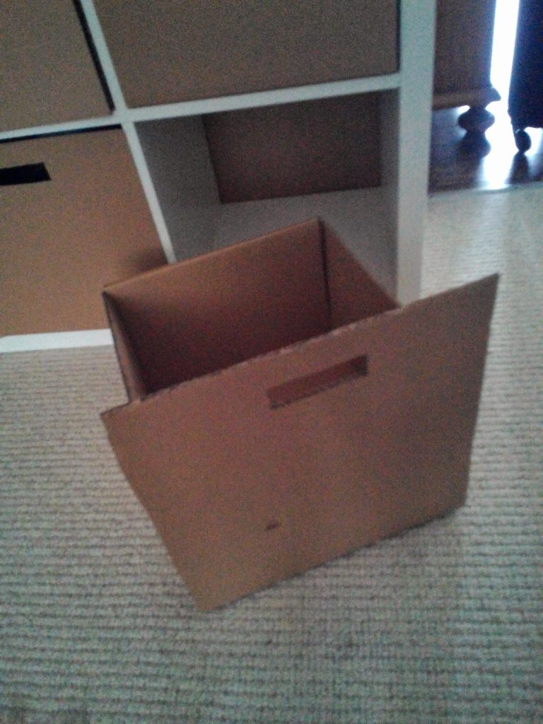 Cajones de Cartón DIY caseros manualidades