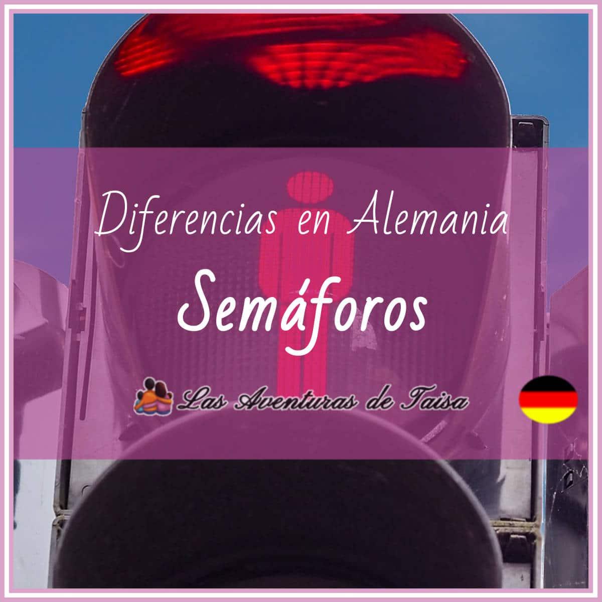 Los semáforos en Alemania (Diferencias Nº 17)