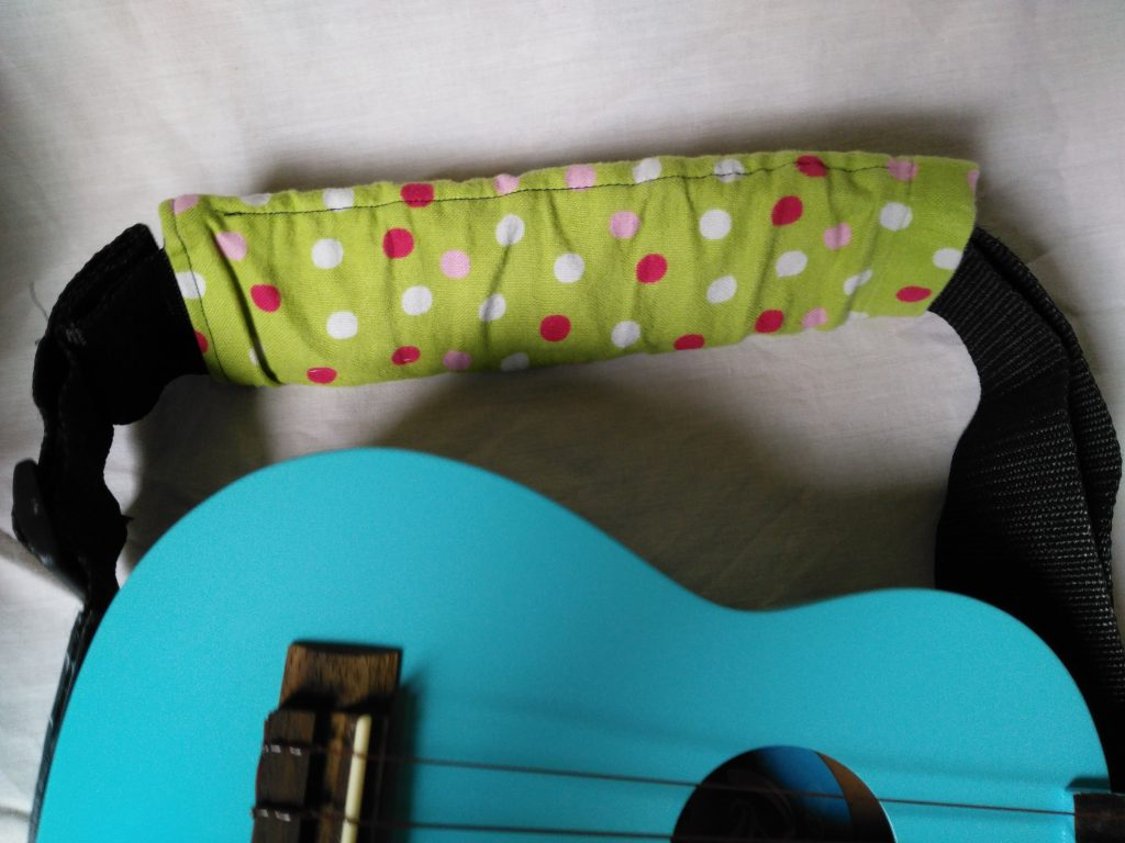 Protector para la cinta de la Guitarra - vistoso y colorido
