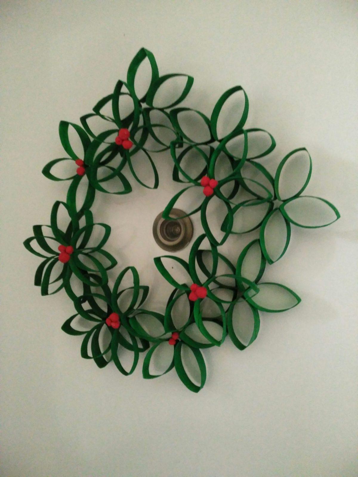Corona de Navidad - Decoración Navideña DIY