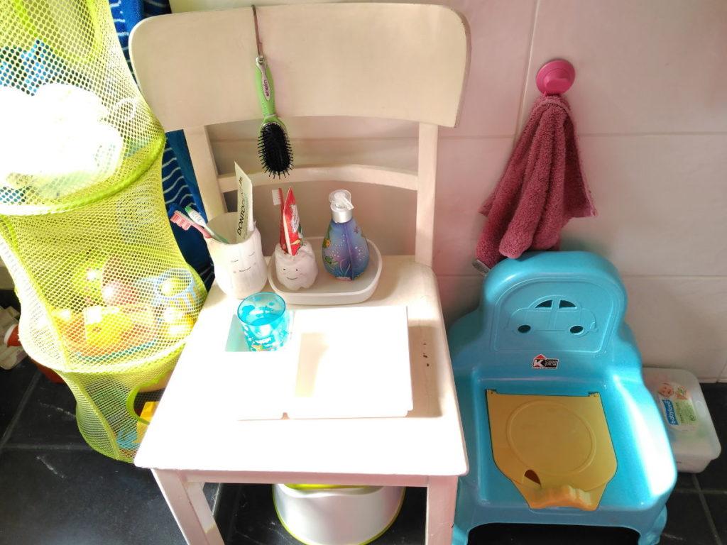 Lavabo adaptado para niños inspiración Montessori