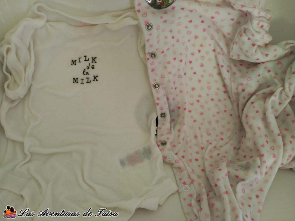 limpiar manchas de caca en la ropa del bebé - 4 minutos Después