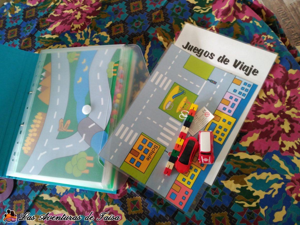 Juegos de Viaje Imprimibles de Coches y Fidget