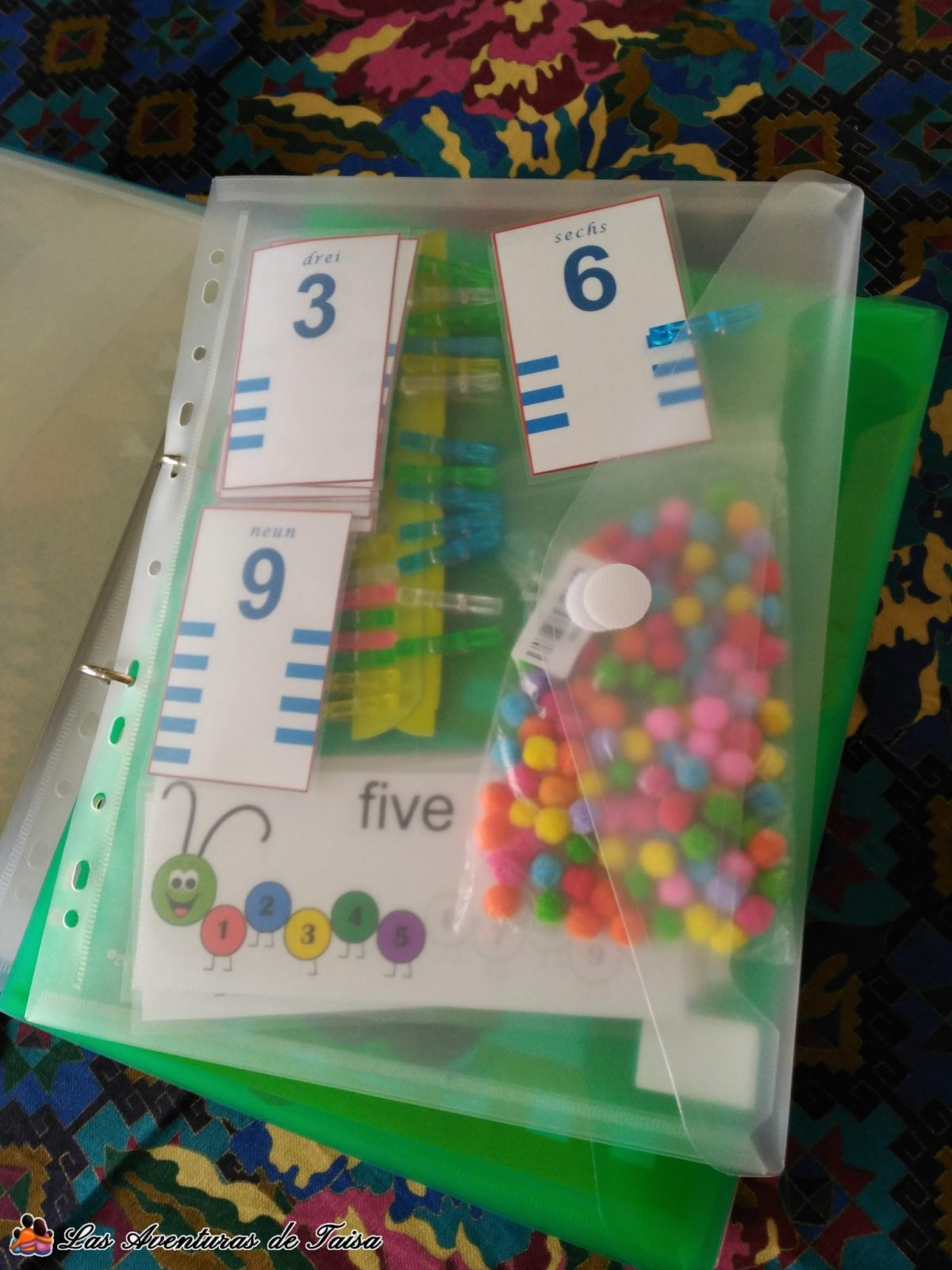 Juegos de Viaje Imprimibles de Números