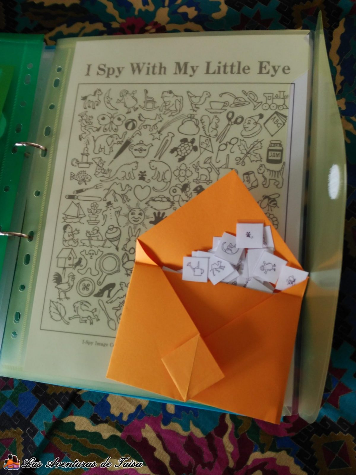 Juegos de Viaje Imprimibles - I Spy with my little Eyes