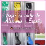 Cuánto cuesta viajar de Alemania a España en coche