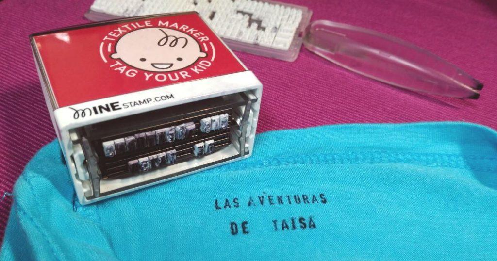 Sellos personalizables para ropa