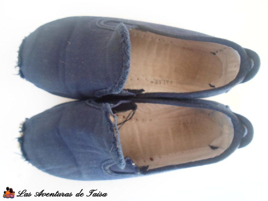 Zapatillas - Hausschuhe- Cómo marcar ropa de niños sin planchar ni pegatinas