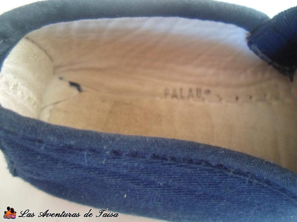 Zapatillas detalle - Cómo marcar ropa de niños sin planchar ni pegatinas