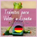 Dejar Alemania: Si te tuvieras que volver a España...
