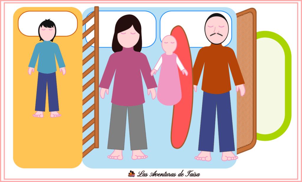 5 - Niño, Barrera, Mamá, Bebé, Cojín de Lactancia, Papá, Barrera
