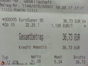 Precio Gasolina Barata Luxemburgo - Viajando de España a Alemania en Coche