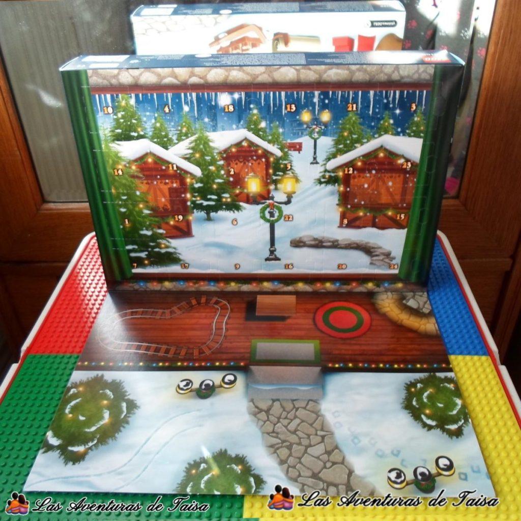 Calendario de Adviento de Lego City Abierto