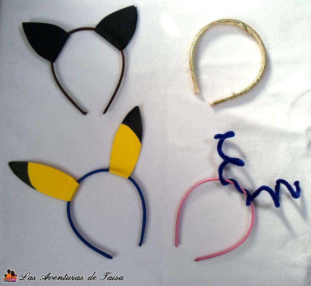 4 Disfraces fáciles y baratos con diademas para niños o mayores