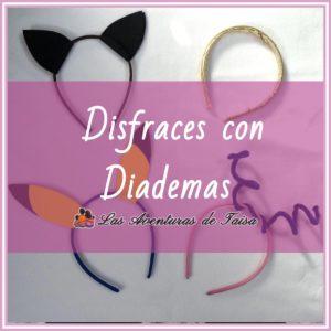 Disfraces fáciles y baratos con diademas