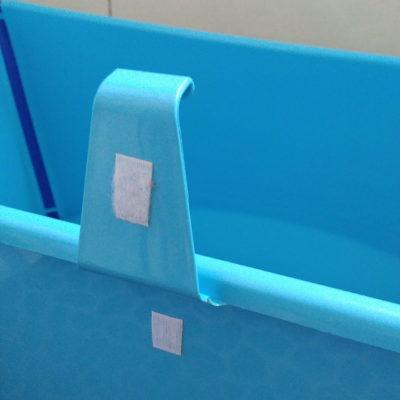 Velcro para proteger el cierre de la bañera Stokke para que no se rompa
