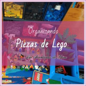 Organizar Lego: Cómo hacerlo y organizadores para piezas