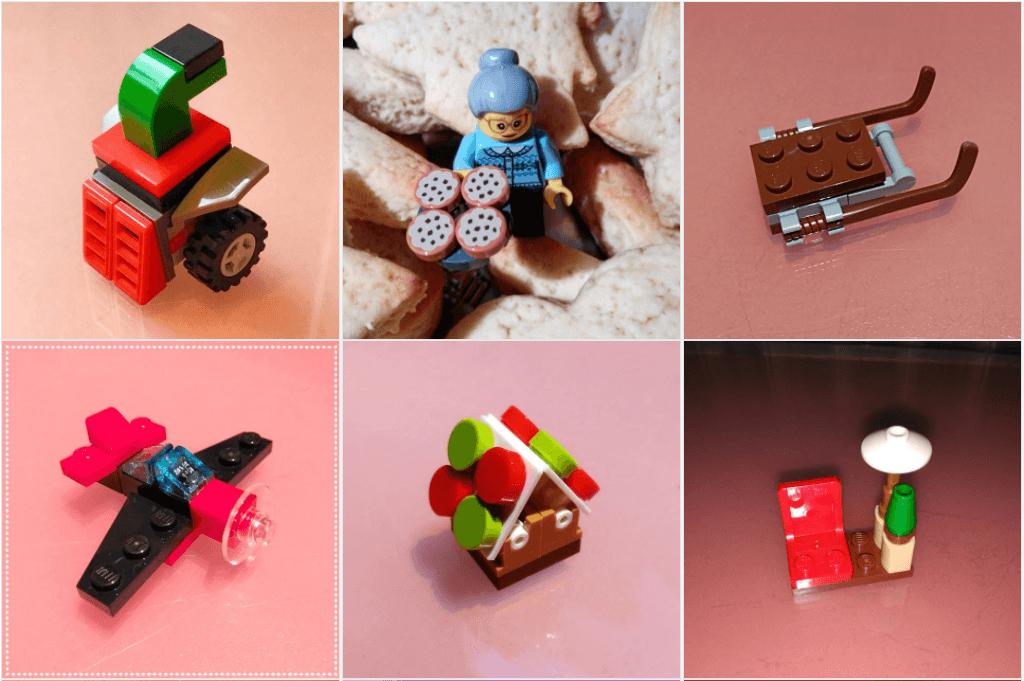 Calendario de Adviento de Lego segunda semana