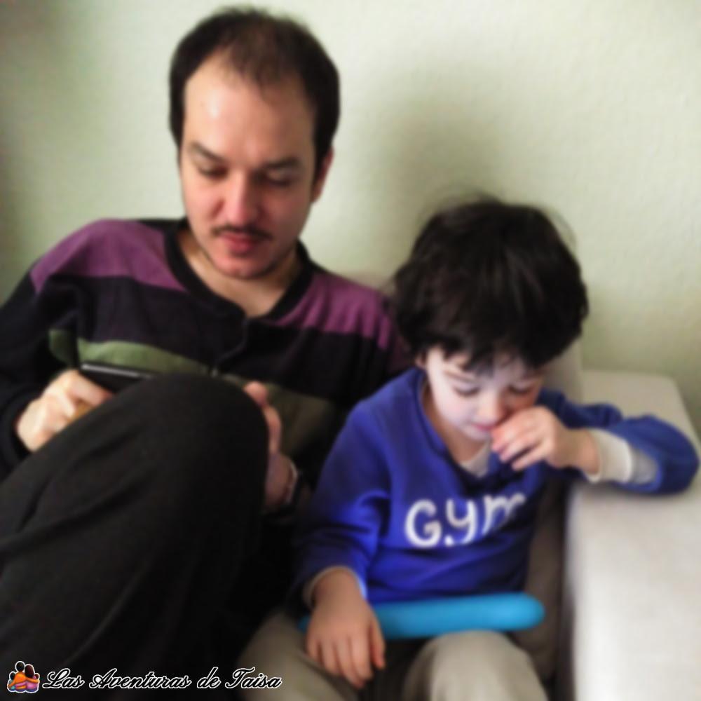 Si se hace del tiempo de juego con la tablet un momento compartido y siempre controlando lo que los niños hacen con su tablet