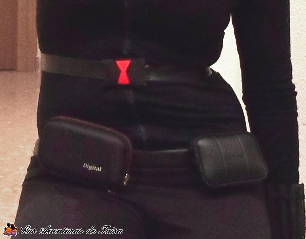 Detalles y accesorios utiles del disfraz de Viuda Negra - Vengadores