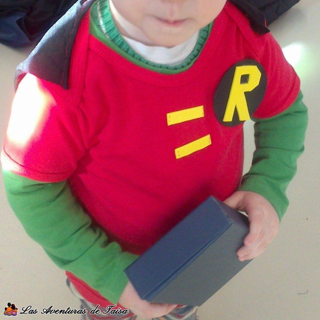Disfraz de Robin casero en la primera versión