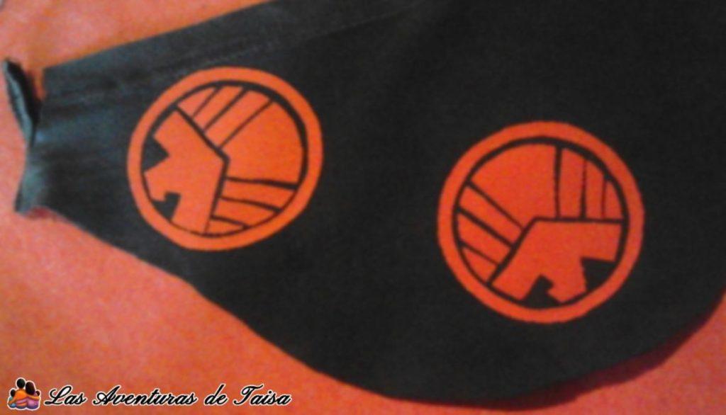Escudo de Shield para el disfraz de Viuda Negra