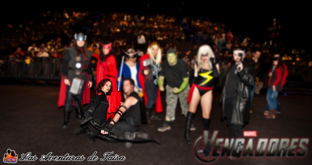 Disfraces de los Vengadores