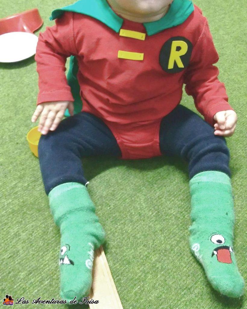 La segunda versión del disfraz de Robin