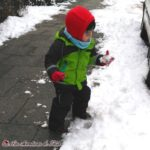 Cómo abrigar a un bebé en invierno en Alemania