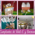 Cumpleaños de Robots, Wall-E y Batman