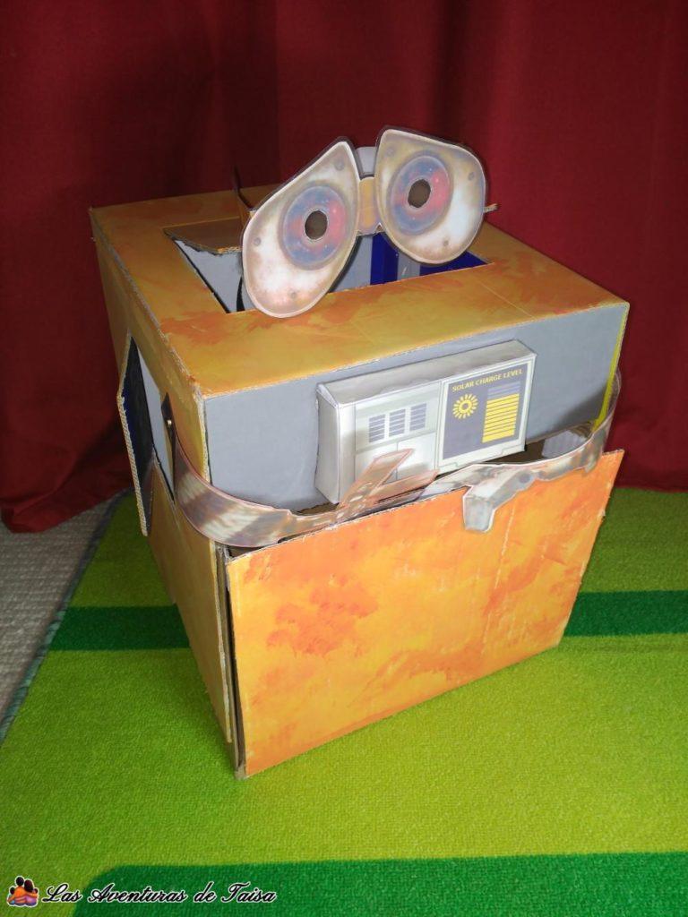 Disfraz de Wall-E el Robot de limpieza de Pixar