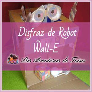 Disfraz de Wall-E Robot de Limpieza Pixar