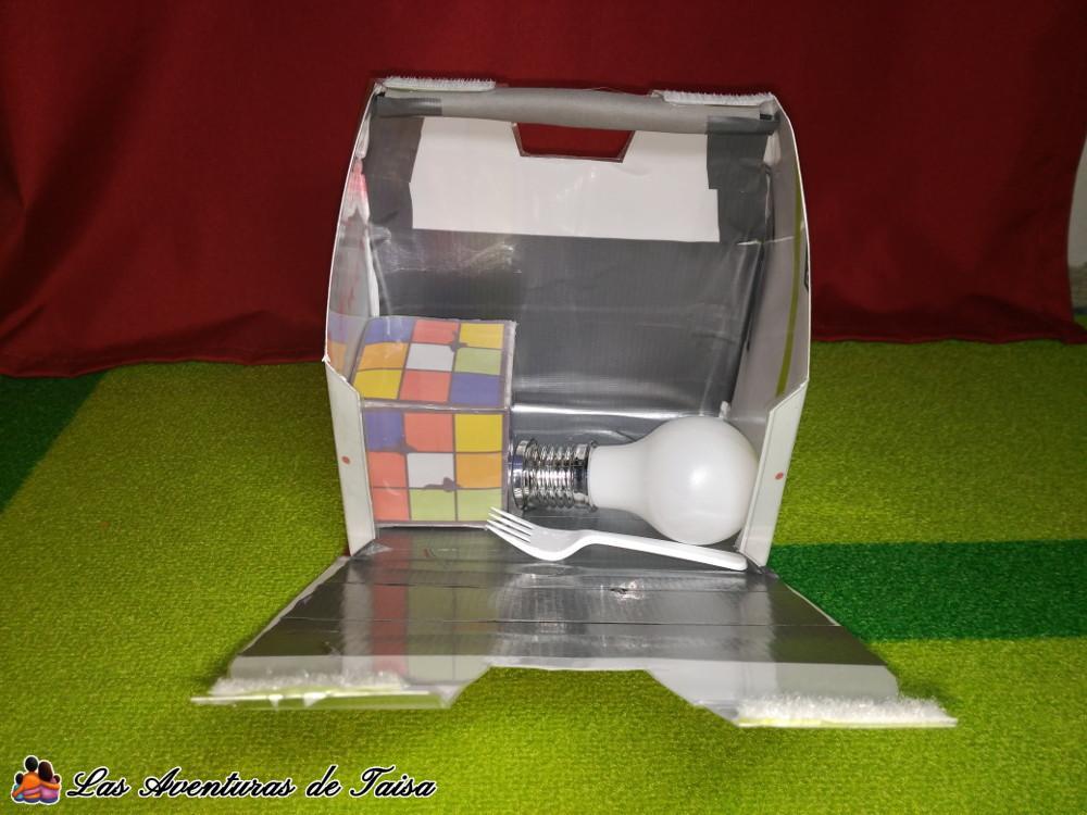 Maleta Lonchera de Wall-E con accesorios para el disfraz