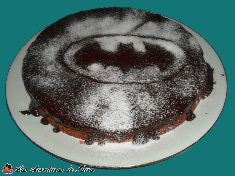 Tarta de cumpleaños de Batman