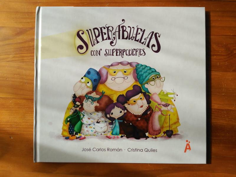 Libro las Superabuelas dedicado por La Quiles