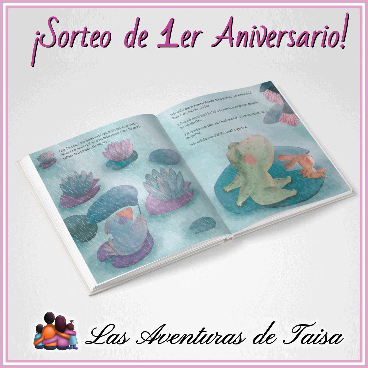"""¡Sorteo de Aniversario! Gana un ejemplar firmado de """"Cierra los ojos Ona"""" (Finalizado)"""