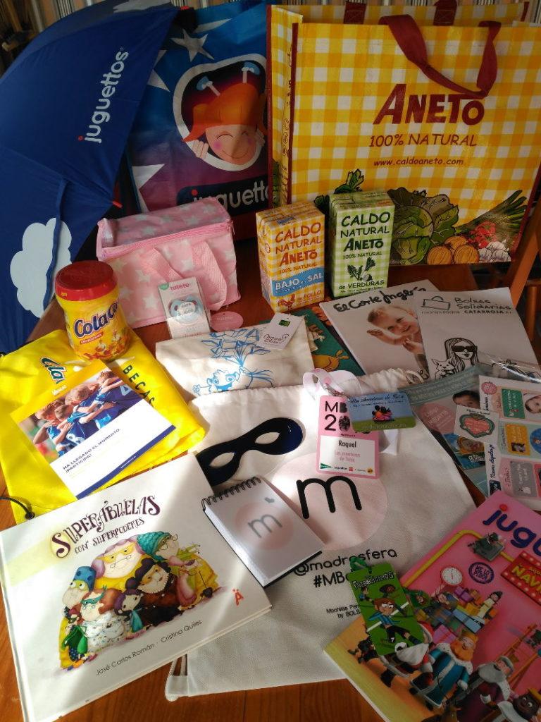 Todos estos regalitos me dieron en el MBDay