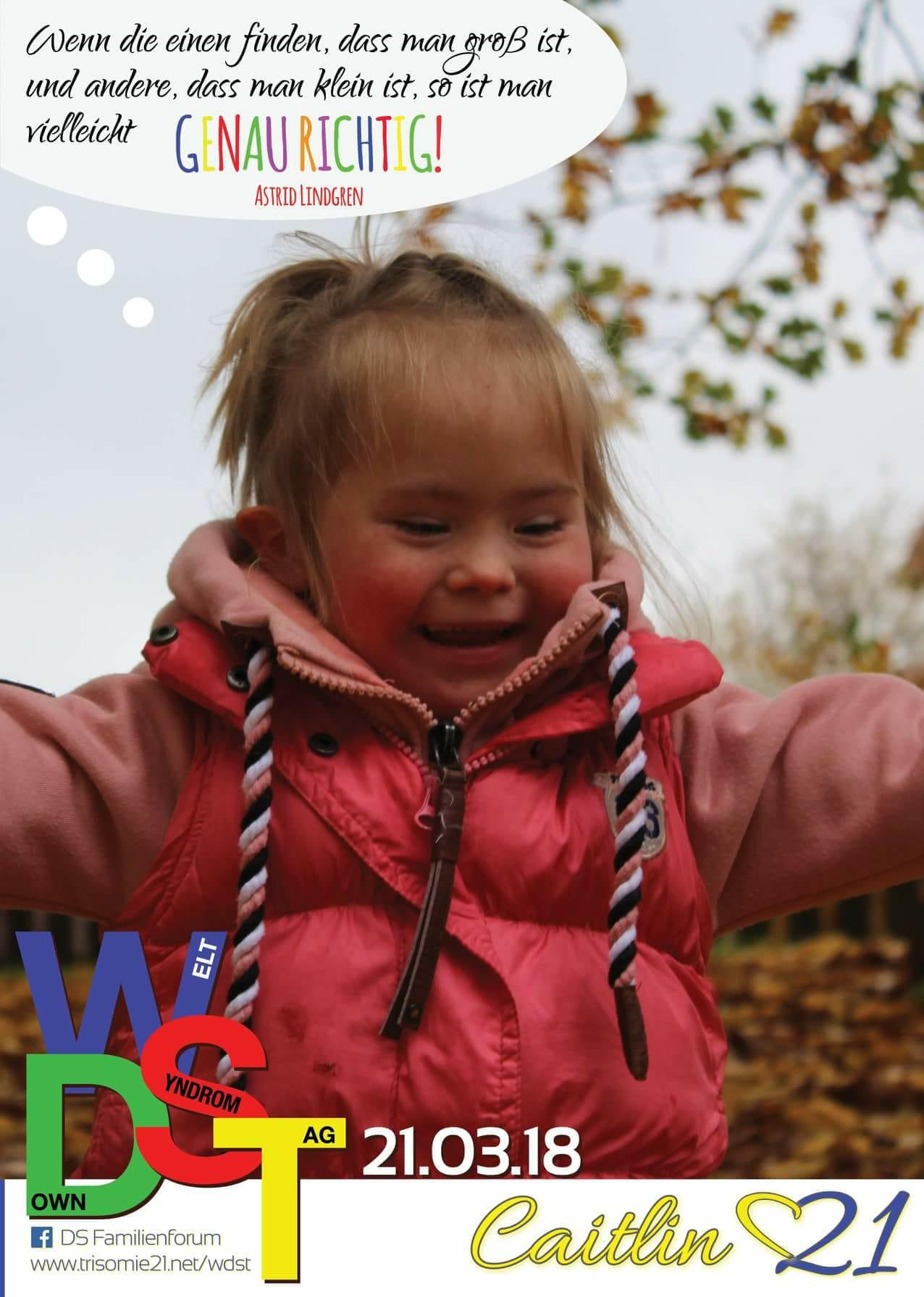 WDST 18 Trisomie.net Caitlin