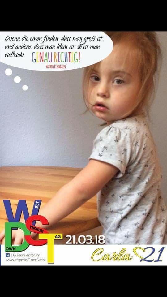 WDST 18 Trisomie.net Carla