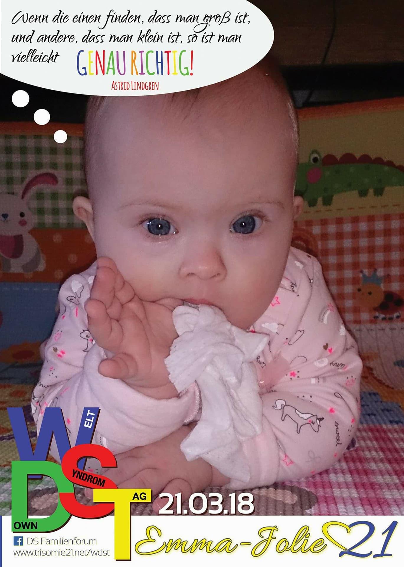 WDST 18 Trisomie.net Emma